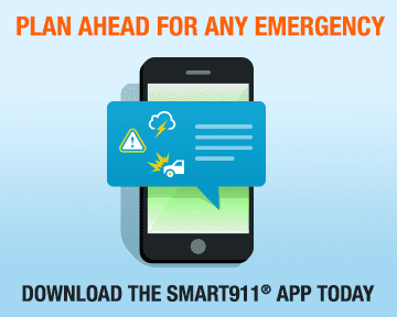 Smart911 App Web Badges