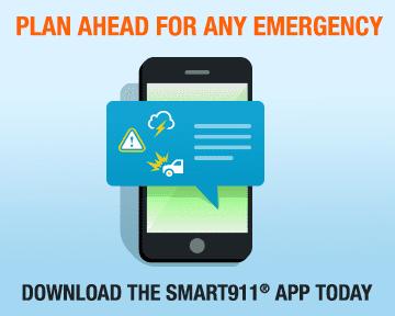 Smart911 App Web Badges