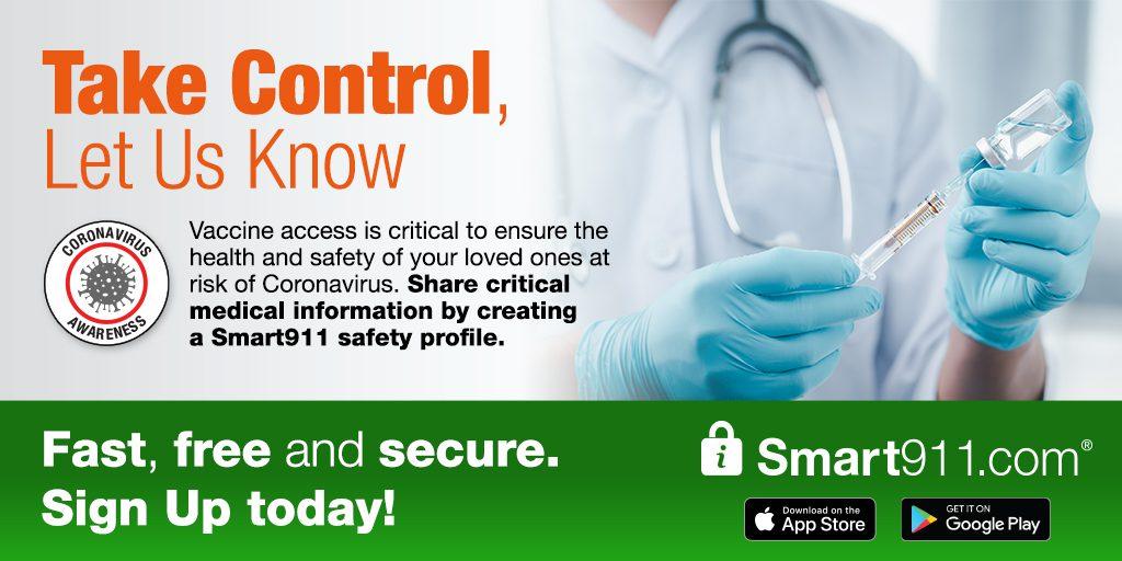 Smart911 Social Media Resources – Coronavirus Vaccine