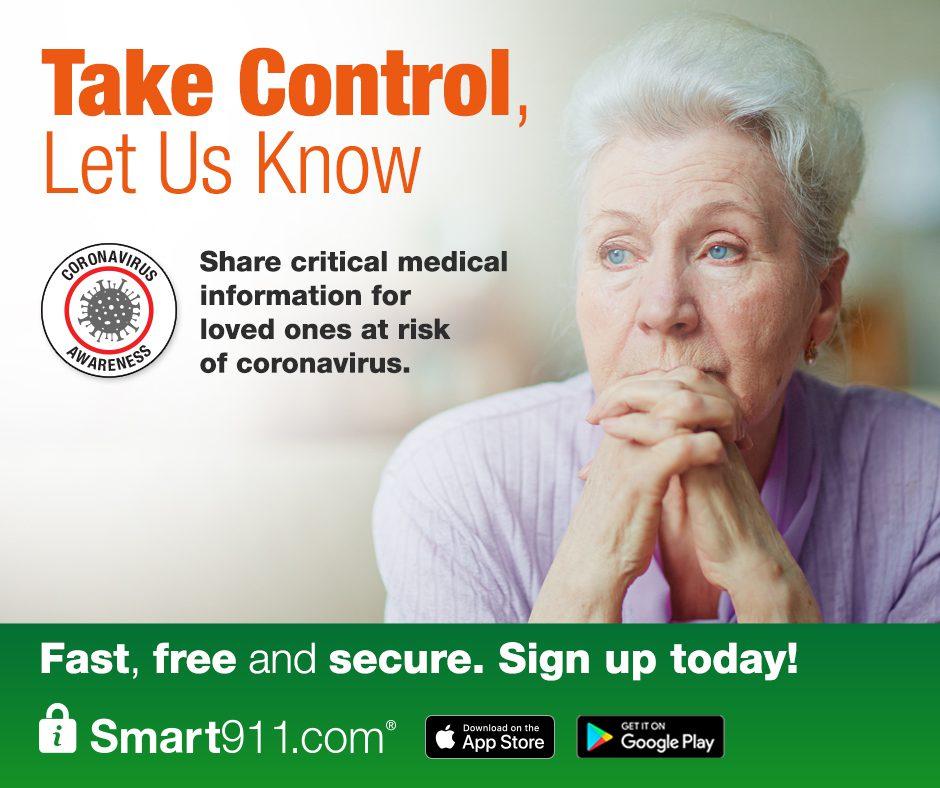 Smart911 Social Media Resources – Coronavirus