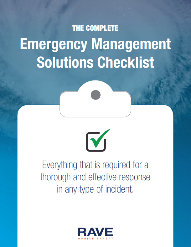 The Complete Emergency Management Solutions Checklist