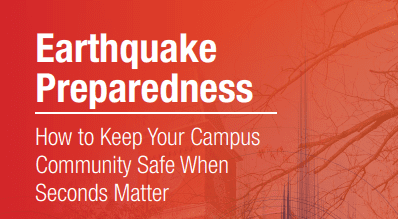 Earthquake Preparedness How to Keep Your Campus Community Safe When Seconds Matter Cover-1