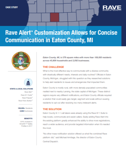 Case Study: Concise Communication in Eaton County, MI