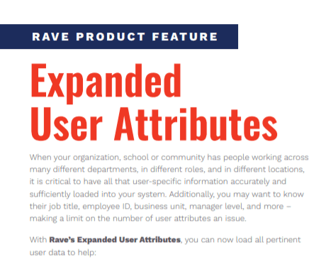 Expanded User Attributes Cover