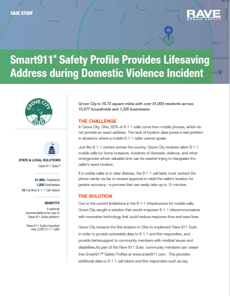 Case Study: Lifesaving Domestic Violence Response in Grove City, OH