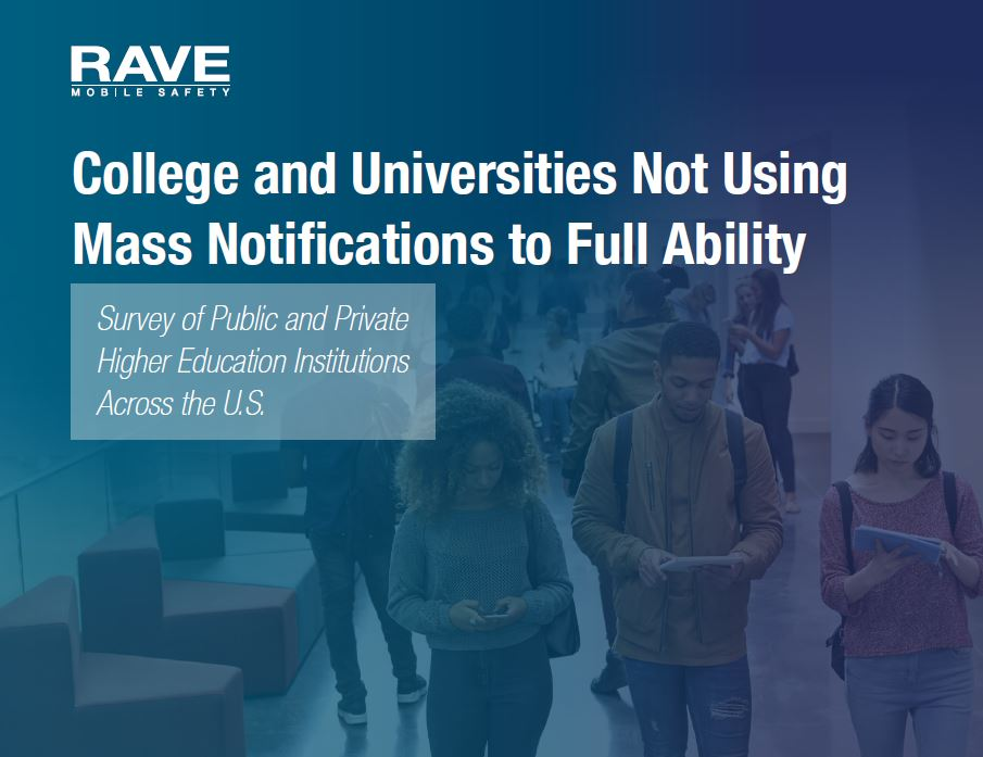 Colleges and Universities Not Using Mass Notifications to Full Ability