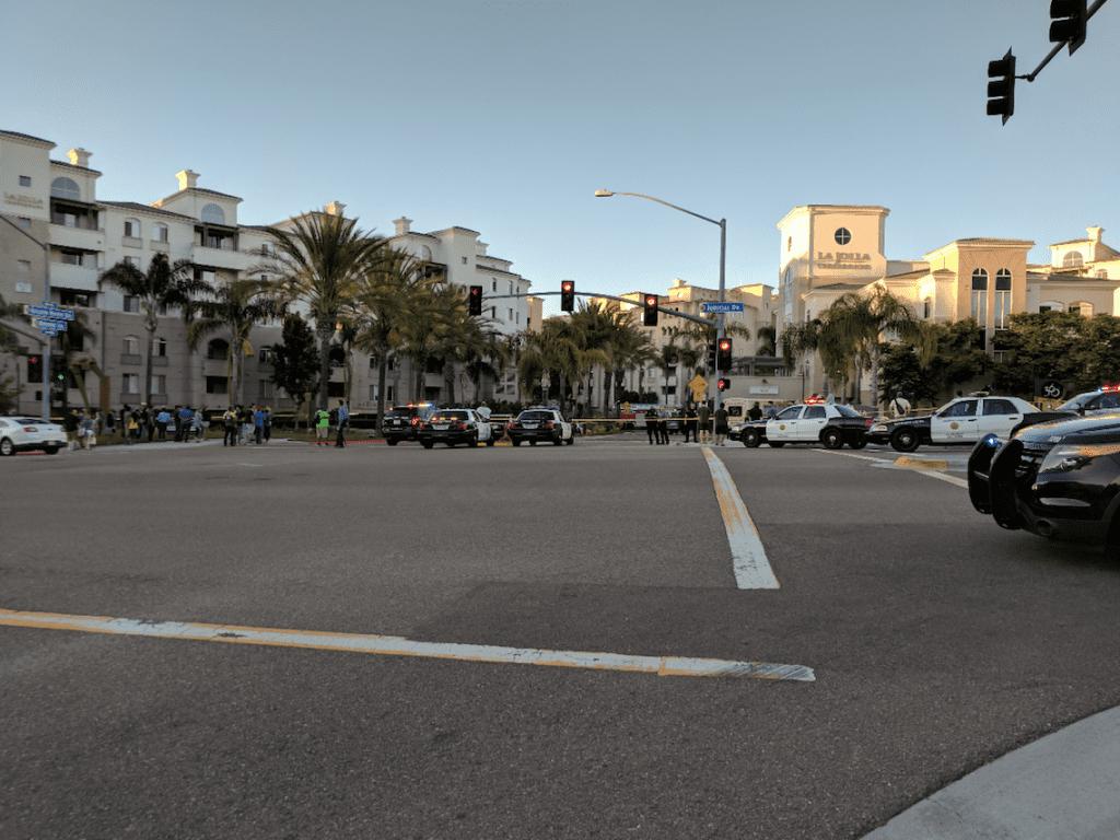 Running Towards The San Diego Mass Shooting