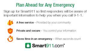 Smart911 Business Card