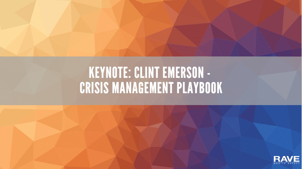 keynote:_clint_emerson_-_crisis_management_playbook