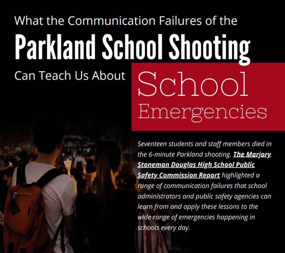 Infographic: Communication Failures of the Parkland School Shooting