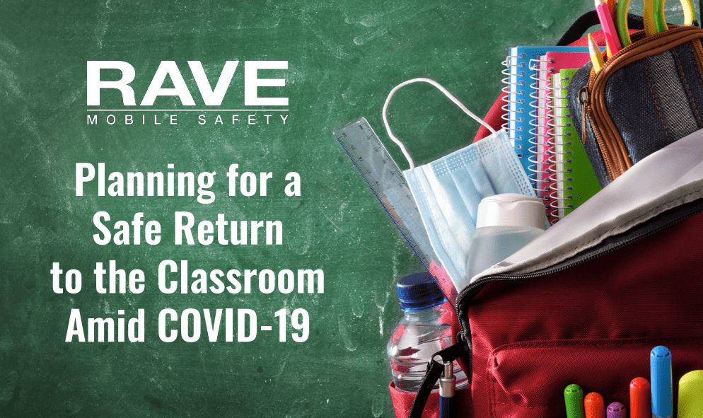 Planning for a Safe Return to the Classroom Amid COVID-19 IG Cover