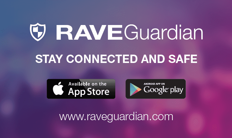 Rave Guardian Business Cards