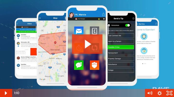 Rave Guardian Mobile Safety App