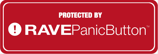 Rave Panic Button - Sticker