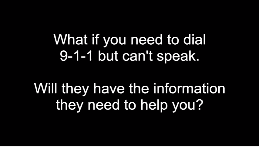 9-1-1 Call: Michigan Man Unable to Communicate