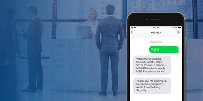 Business: Rave Alert SMS Opt-in