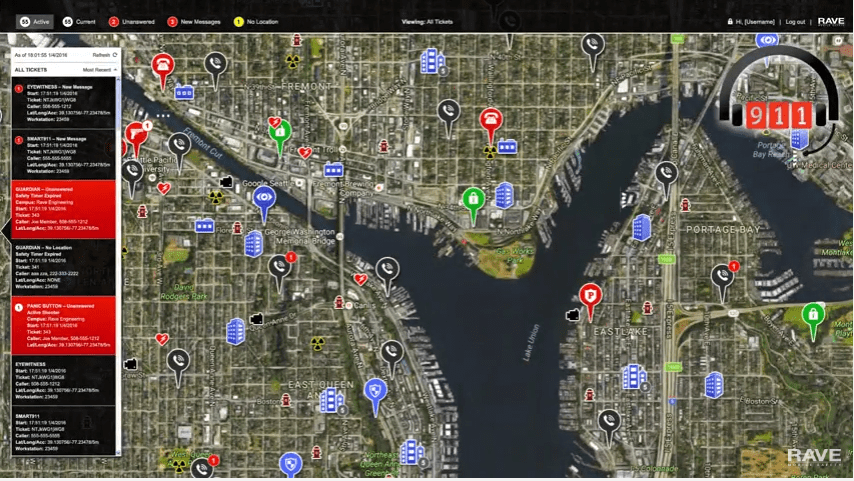 Rave Command View: For a Faster 911 Response