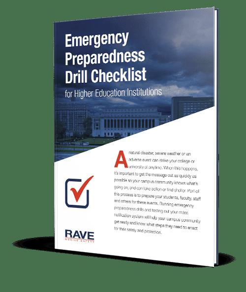 Emergency Preparedness Drill Checklist Cover