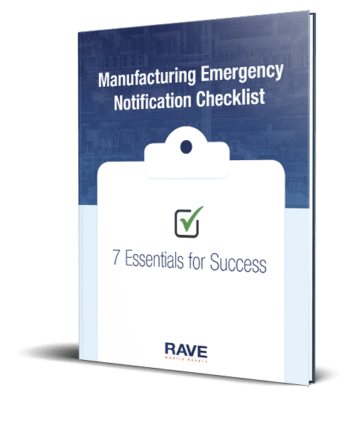 Manufacturing Emergency Checklist Cover