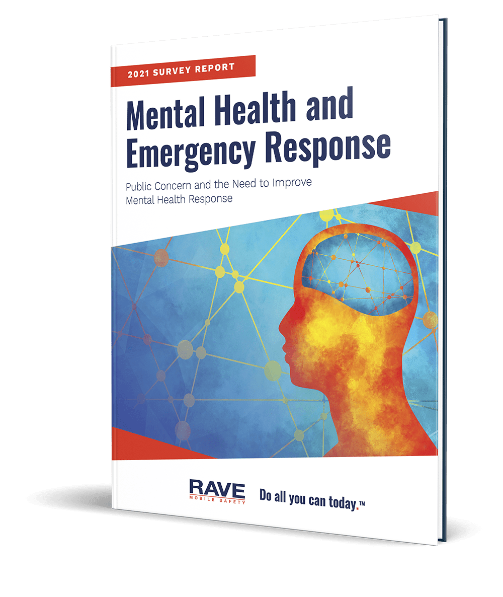 2021 mental health and emergency response survey cover