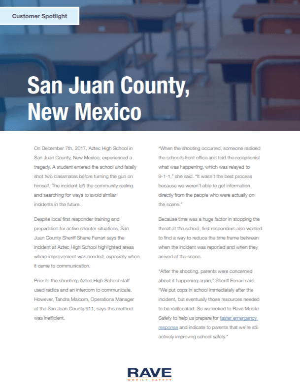 San Juan County Customer Spotlight