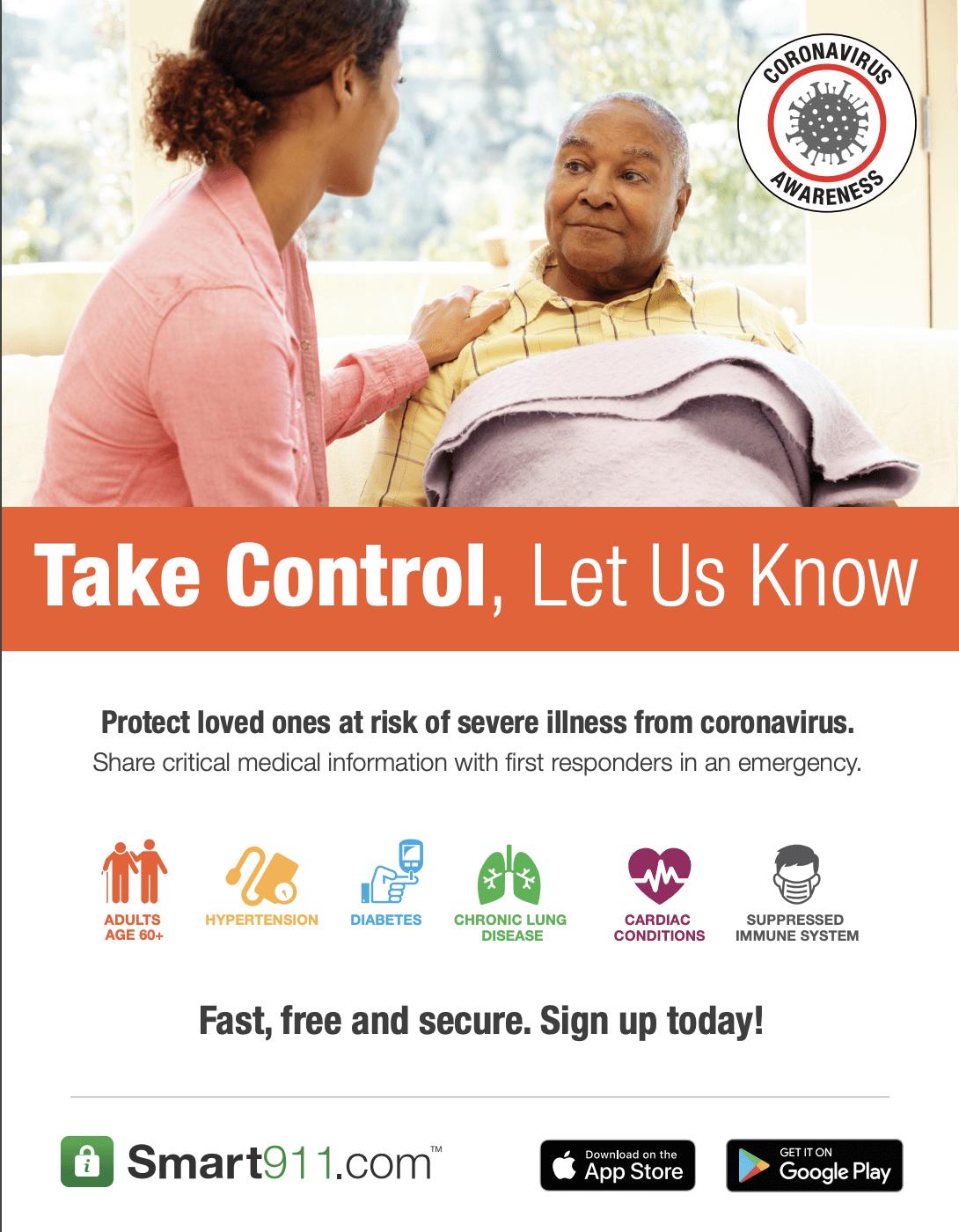 Smart911 Flyers – Coronavirus