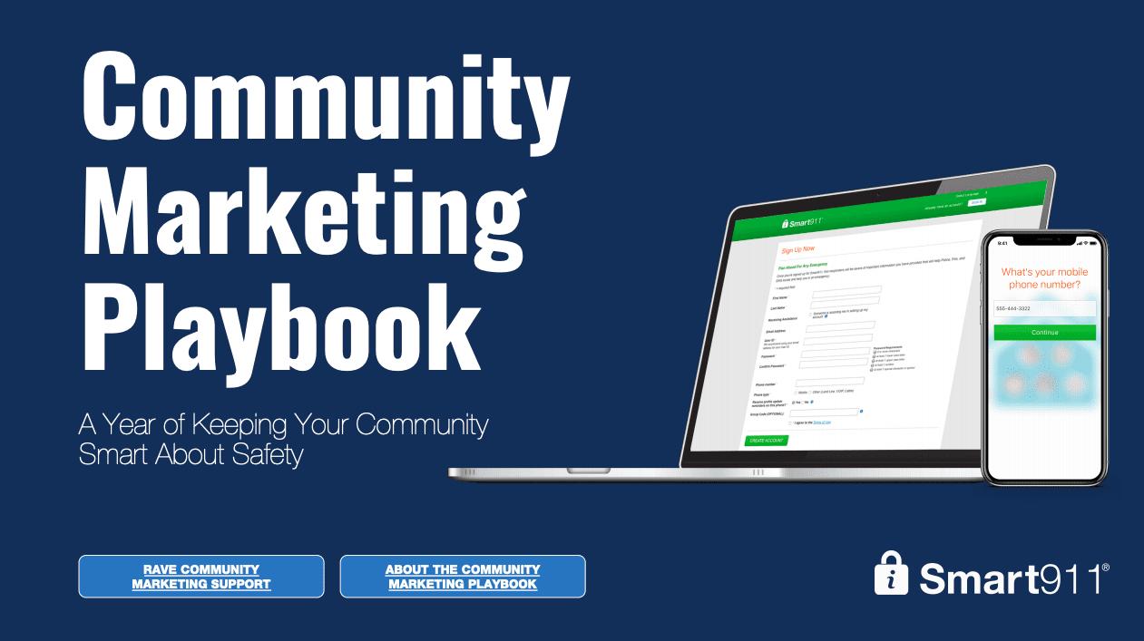Smart911 Community Marketing Playbook