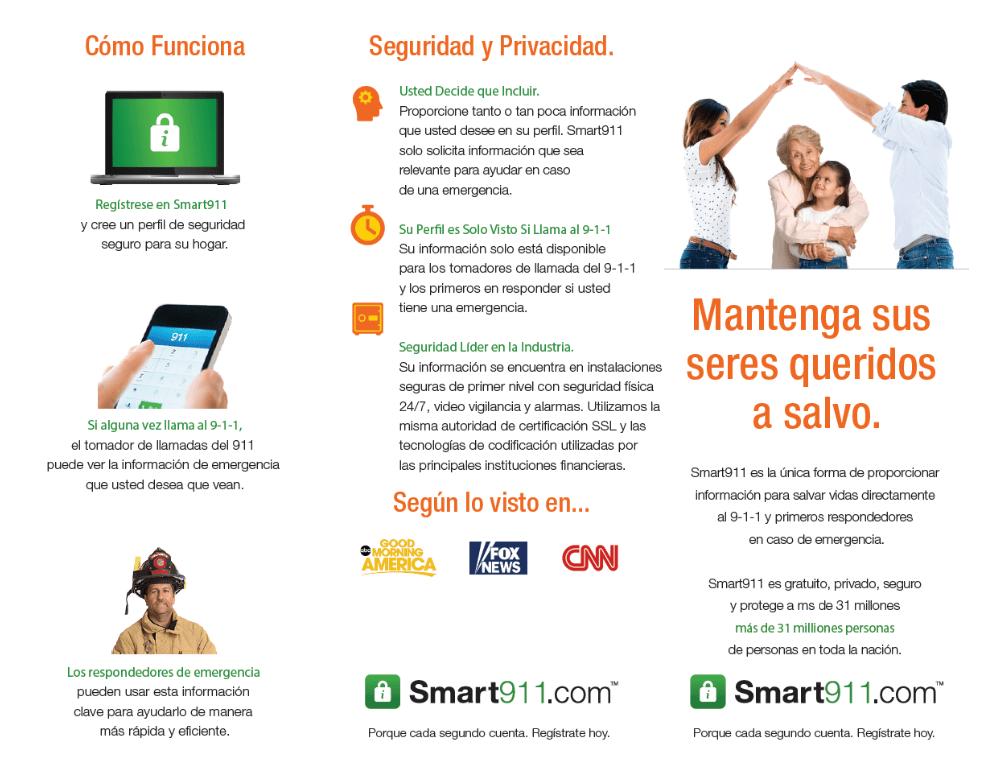 Smart911 Spanish Materials