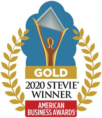 2020 Stevie Award - Gold Winner