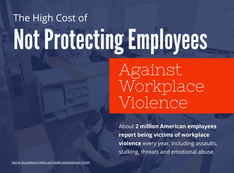 The High Cost of Not Protecting Employees Infographic Cover