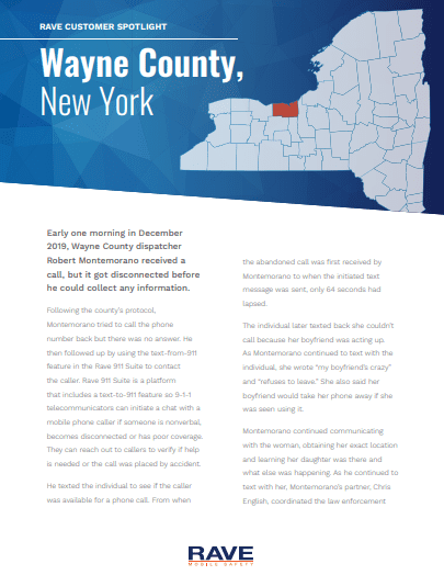 Wayne County, New York Customer Spotlight