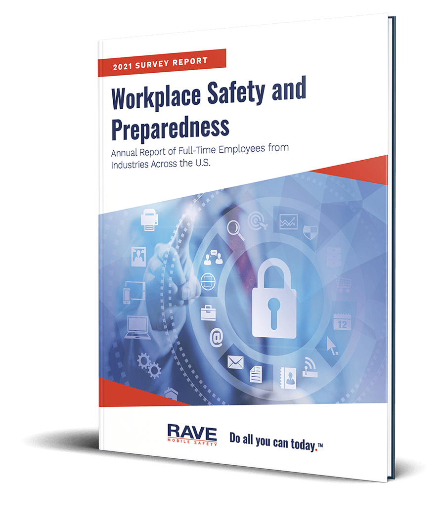 2021 workplace safety and preparedness survey cover
