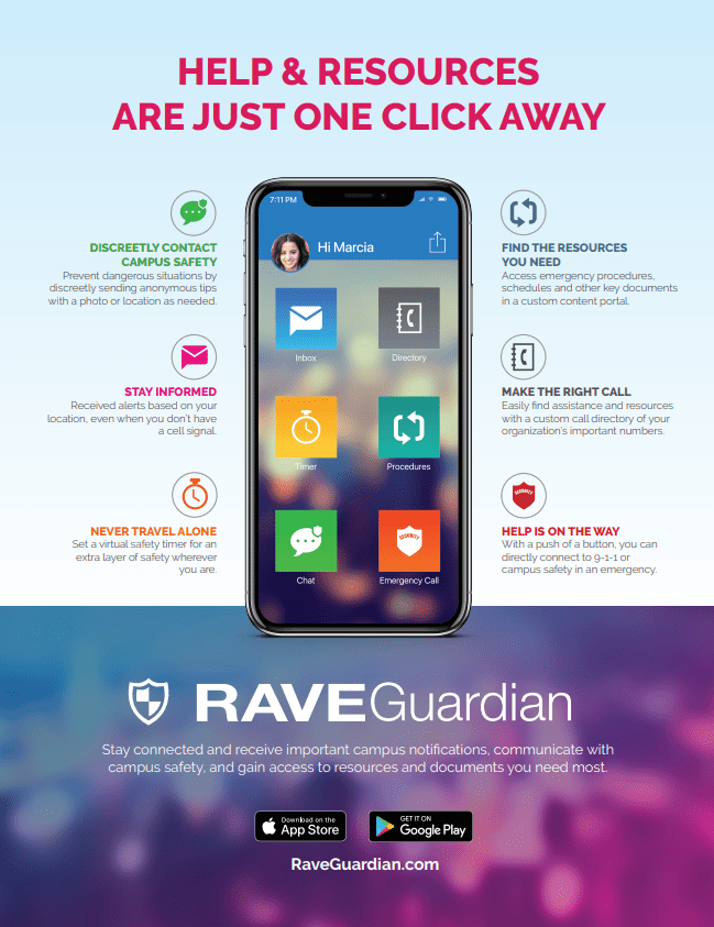 Rave Guardian Overview Flyer