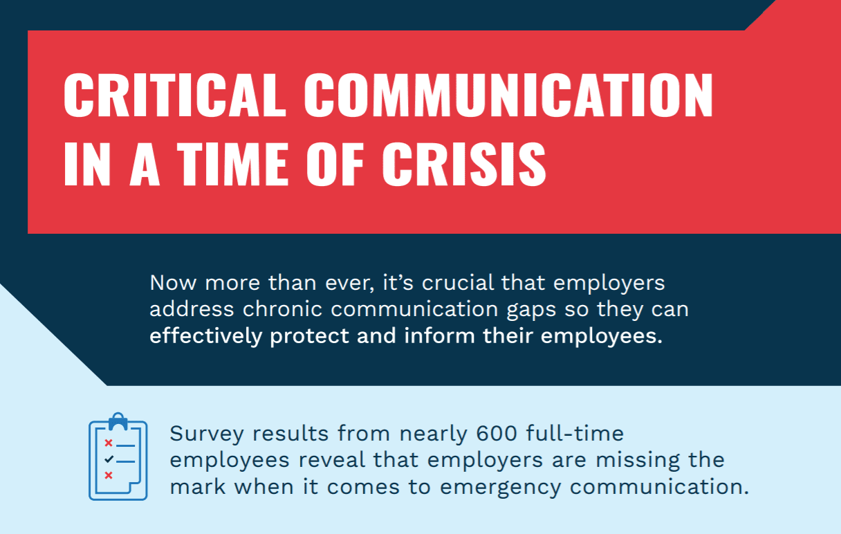 Critical Communication in a Time of Crisis