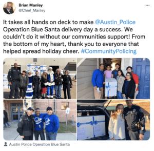 community policing tweet