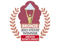 2021 stevie bronze award