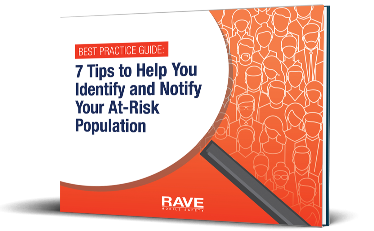 7 tips to help you identify and notify your at-risk population best practice guide cover angled