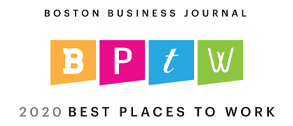boston business journal 2020 best place to work logo