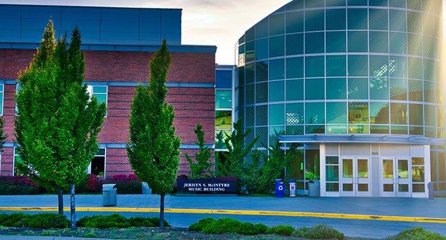 Central Washington university campus