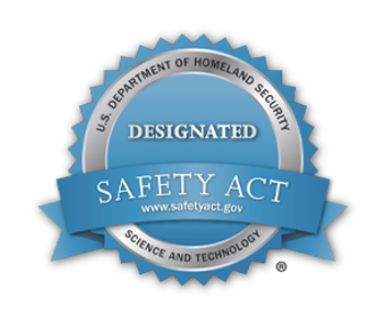 homeland security designated safety act badge