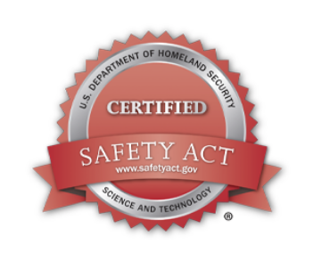 homeland security certified safety act badge