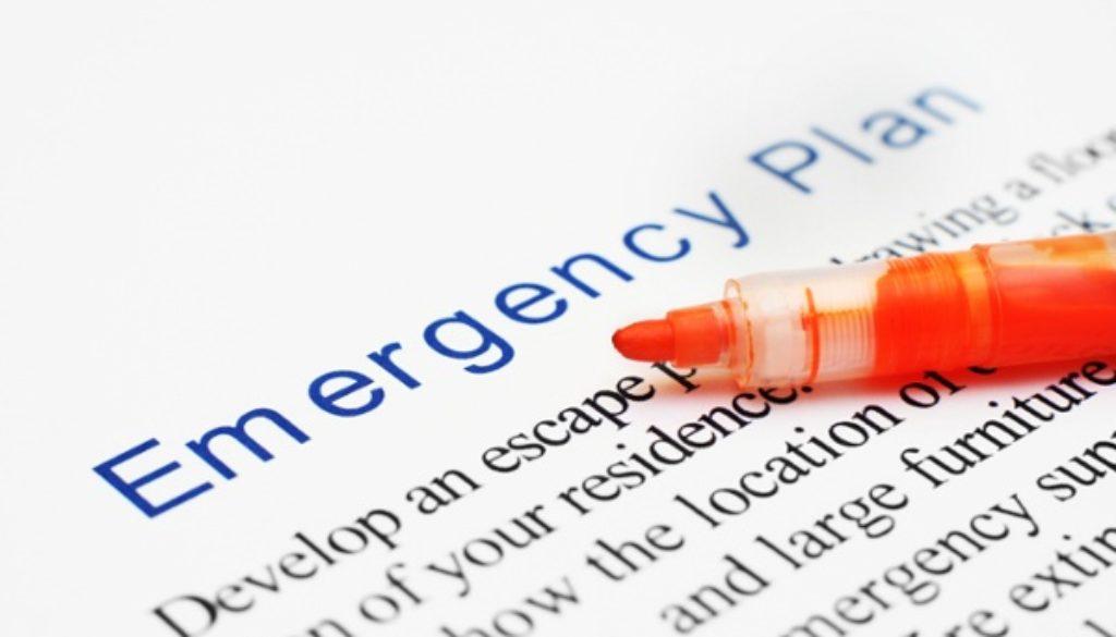 emergency plan statement