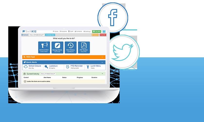 swiftk12-laptop-socials-facebook-twitter