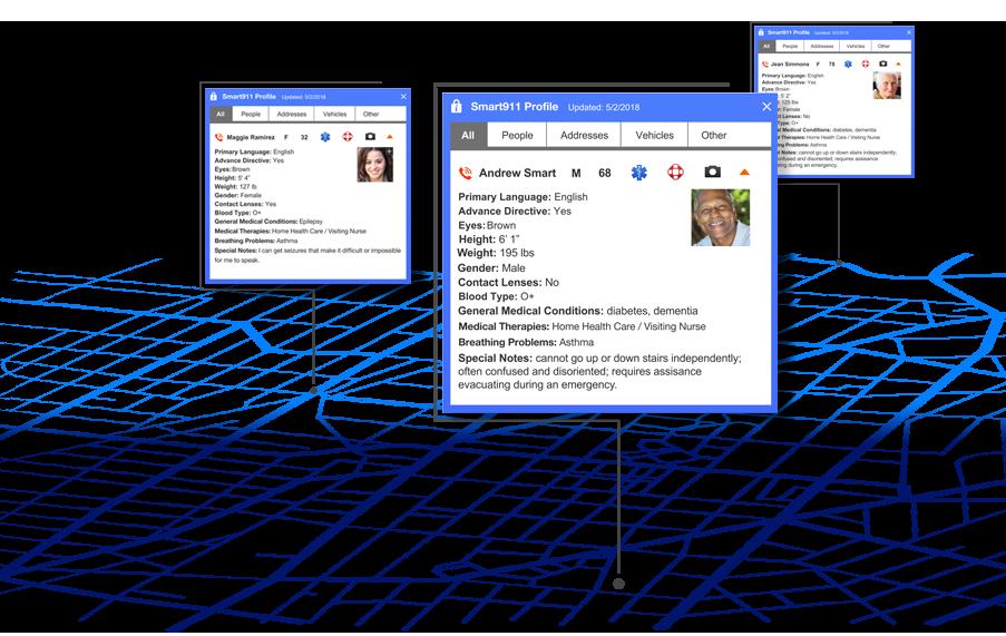 smart911 vulnerable needs registry dashboard