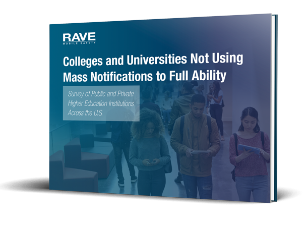 colleges and universities not using mass notifications to full ability cover angled