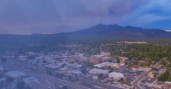 Coconino County aerial view