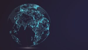 simulated earth
