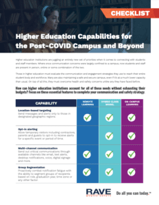 higher ed capabilities post covid resource preview