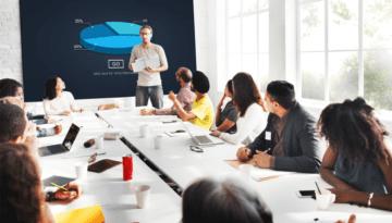office employees presentation