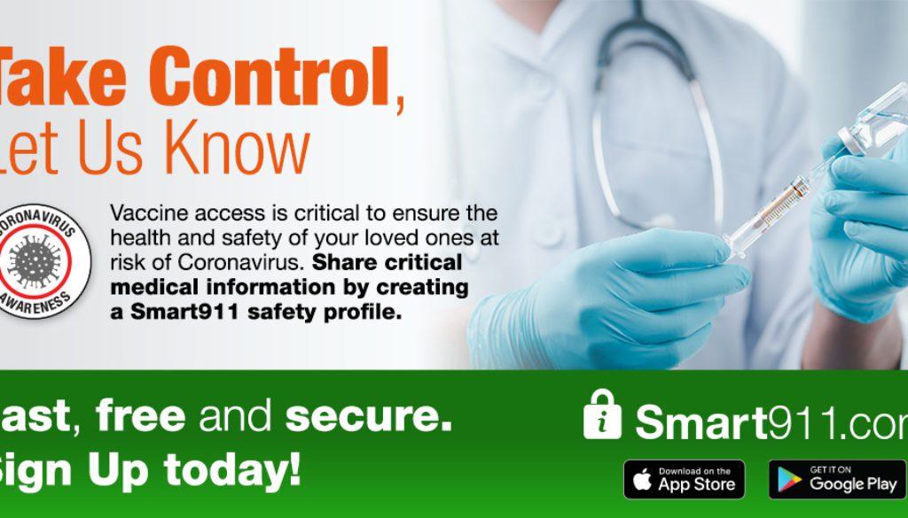 smart 911 vaccine graphic